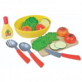 Legemad - Salatsæt i plast
