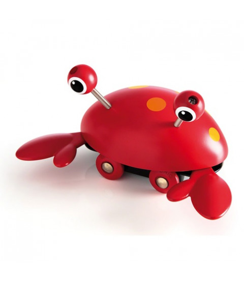 Push-along krabbe