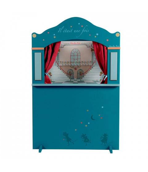 Dukketeater Stor, blå