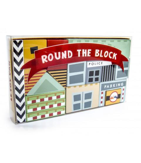 Round the block klodser