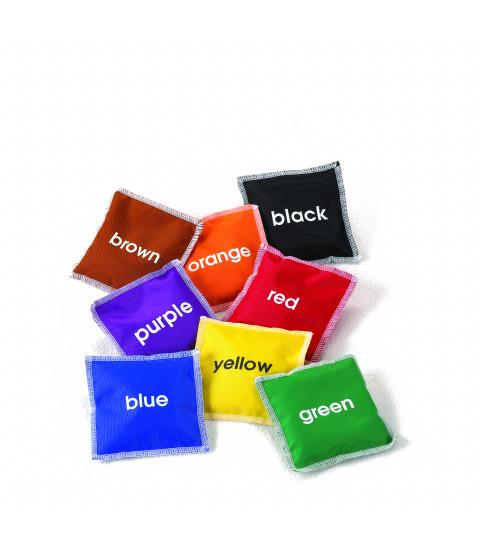 Ærteposer farver