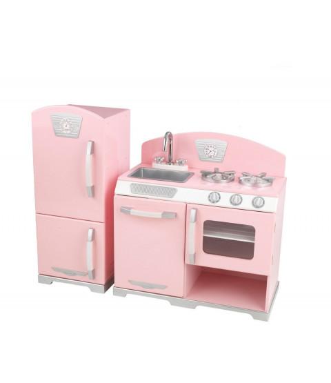 Pink Retro Køkken-moduler