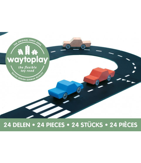 Waytoplay motorvej med 24 dele