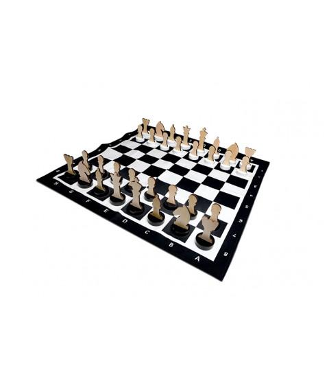 Kæmpe skakspil
