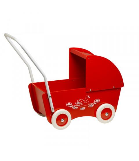 Krea Rød Trædukkevogn
