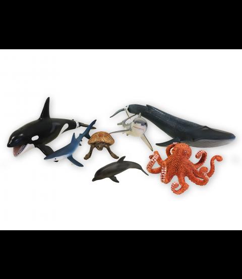 Havets dyr, Schleich (8stk)