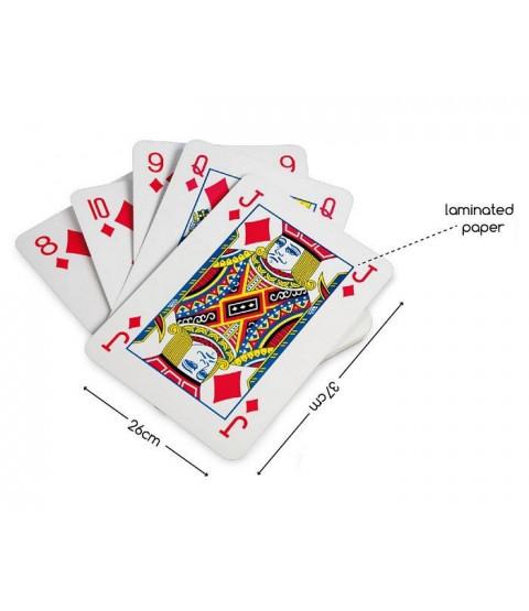 Kæmpe A4-spillekort