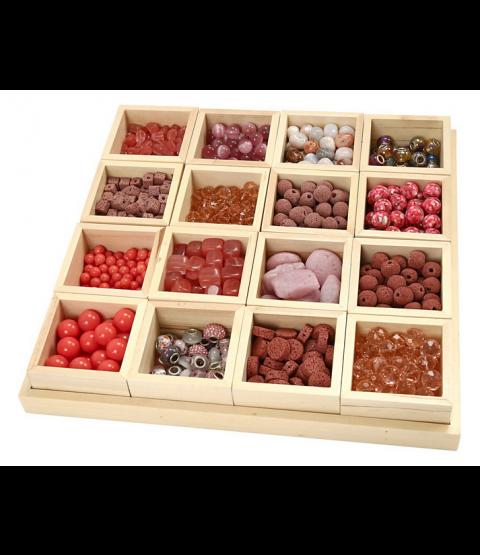 Luksus Perleharmoni, Rosa harmoni, inkl. sættekasse med 16 rum