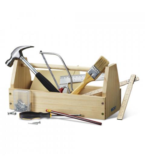 Værktøjskasse m værktøj