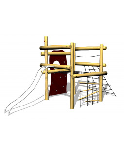 Robinia 4 kant  klatresystem