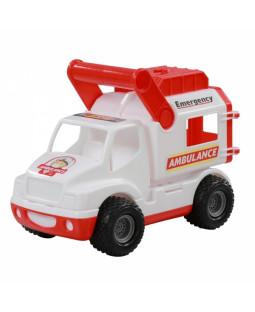 Ambulance bil