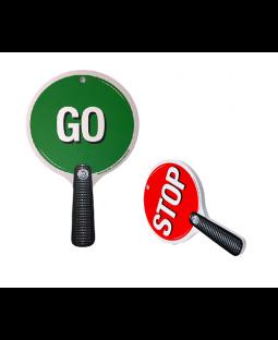 Stop-n Go skilt