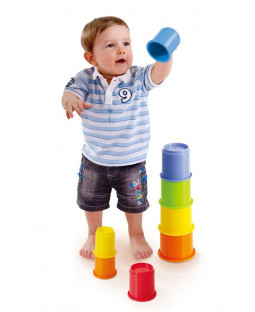 HB Rainbow Stacking cups