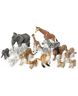 Vilde dyr med unger