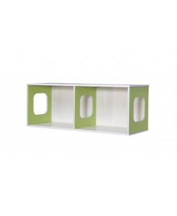 Vægreol UNIK Design med 2 rum - Birkefiner
