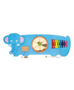 Væghængt aktivitetstavle, Elefant