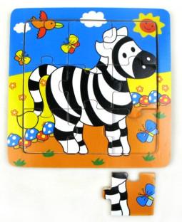 Puslespil Zebra
