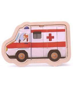 Puslespil ambulance