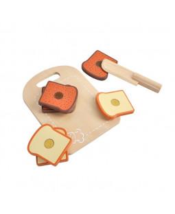 Skærebræt med brød