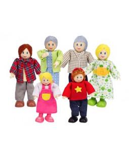 Familie til dukkehus