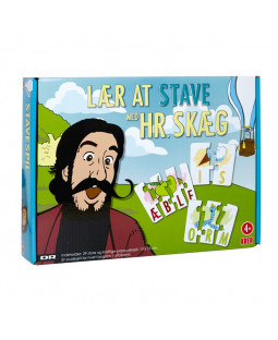 Hr. Skæg - Lær at stave