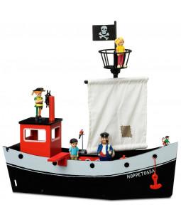 Pippis piratskib Hoppetossa