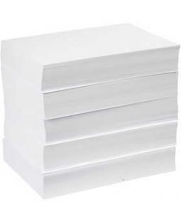 Tegnepapir, A4 21x30 cm, 80 g, 5x500 ark, hvid