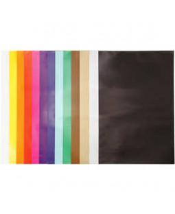 Glanspapir, sortiment, ark 32x48 cm, 80 g, 100 ark, ass. farver , ass. farver