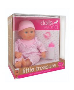 Little Treasure dukke lyserød, 38 cm