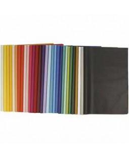 Silkepapir, ark 50x70 cm, 14 g, 300 ass. ark, ass. farver , ass. farver