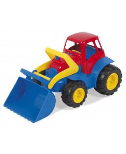 Traktor i plast