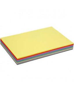 Creativ karton, A3 30x42 cm, 180 g, 300 ass. ark, ass. farver , ass. farver