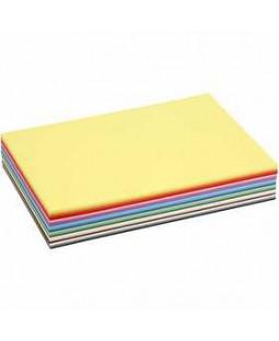 Creativ karton, A4 210x297 mm, 180 g, 300 ass. ark, ass. farver , ass. farver