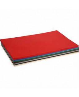 Julekarton, A2 420x600 mm, 180 g, 300 ass. ark, ass. farver , ass. farver