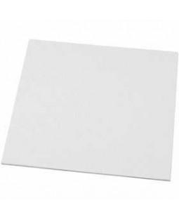 Malerplade, str. 20x20 cm, tykkelse 3 mm, 10 stk. 280 g
