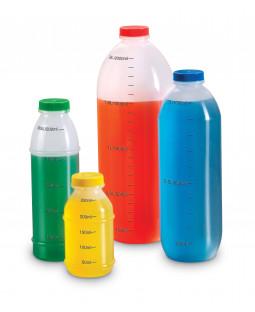 Plast måleflaske sæt