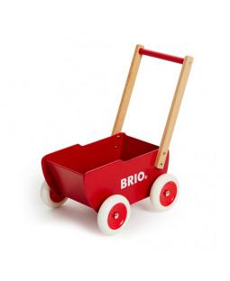 Brio Rød Trædukkevogn