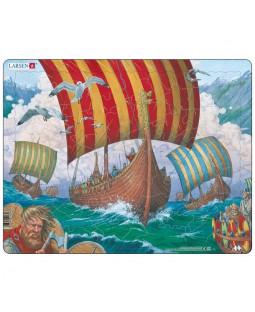 Puslespil, Vikingeskib, 64 Brikker