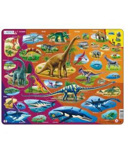 Puslespil, Dinosauer, 85 Brikker