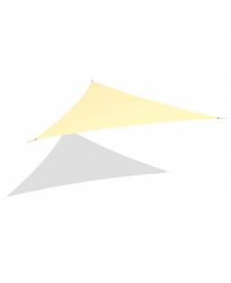 Solsejl trekant 3,6 x 3,6 x 3,6 m
