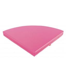 Pink hjørnemadras