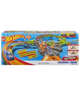 Hot Wheels Colossal Crash Track sæt