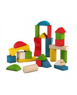 Byggeklodser, farvede, 25 stk.