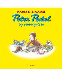 Peter Pedal og sparegrisen, bog