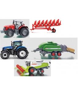 Siku Landbrugssæt 5 Biler