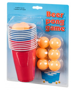 Ping Pong spil med bold og kop