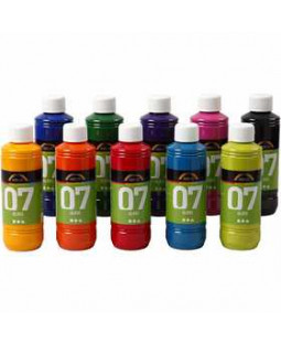 A-Color Glass, 10x250 ml