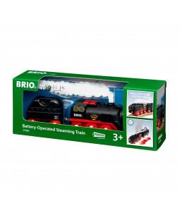 Brio batteridrevet damptog