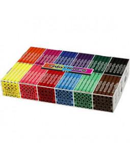 Colortime Tusch, stregtykkelse: 5 mm, 288 stk., standard farver , ass. farver