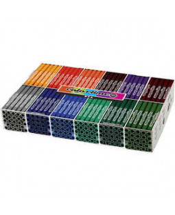 Colortime Tusch, stregtykkelse: 5 mm, 288 stk., supp. farver , ass. farver